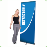 retractable banners stand Vancouver