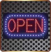 LED Open Signs, Vancouver LED Signs, Vancouver, Burnaby LED Signs Burnaby.